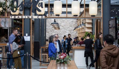 New Japanese restaurant, Osaka Trading Co., has opened with head chef Shota Sato.