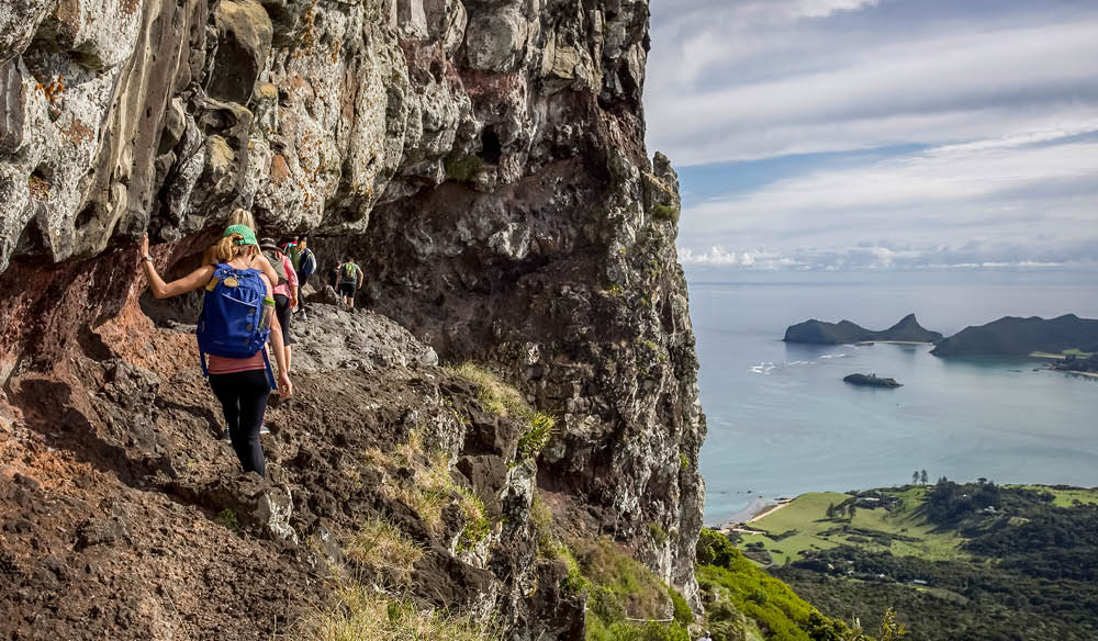 The epic trek to Lord Howe Island's Mt Gower.