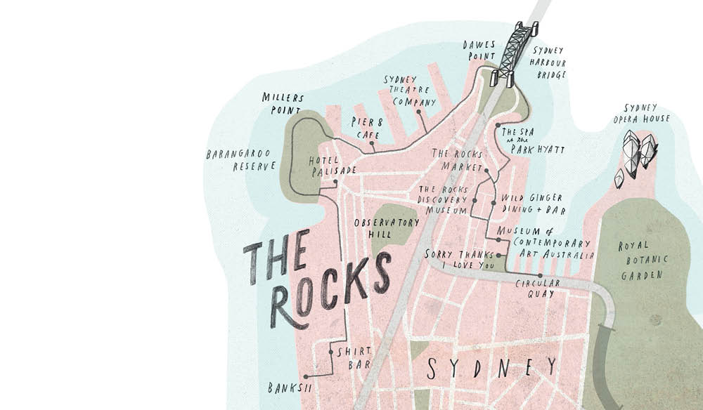 history the rocks walking food drinks travel itinerary