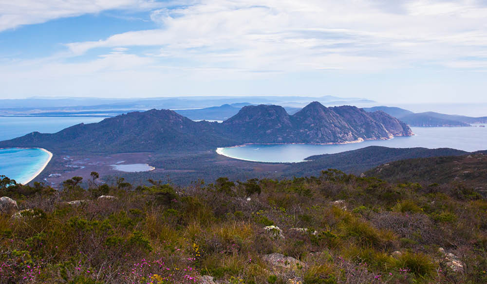 You'll rarely see beauty so raw: Freycinet Experience Walk, Tasmania.