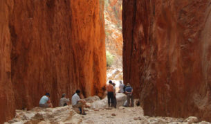 Standley Chasm Larapinta Trek World Expeditions