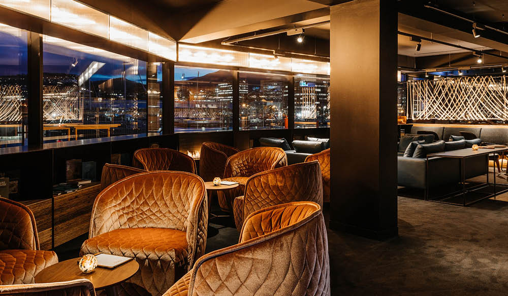 Macq01 is Hobart's hottest new hotel with a chic restaurant and bar to match (photo: Adam Gibson).