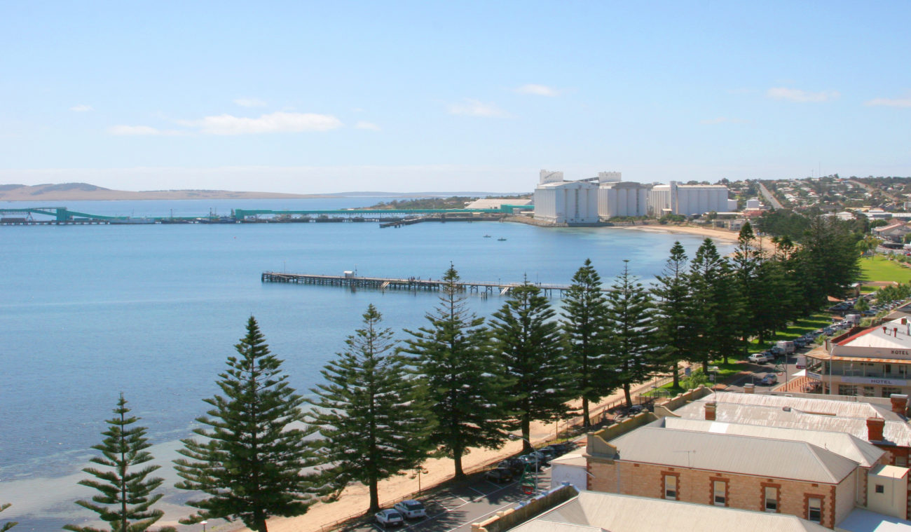A view of the beautiful city of Port Lincoln
