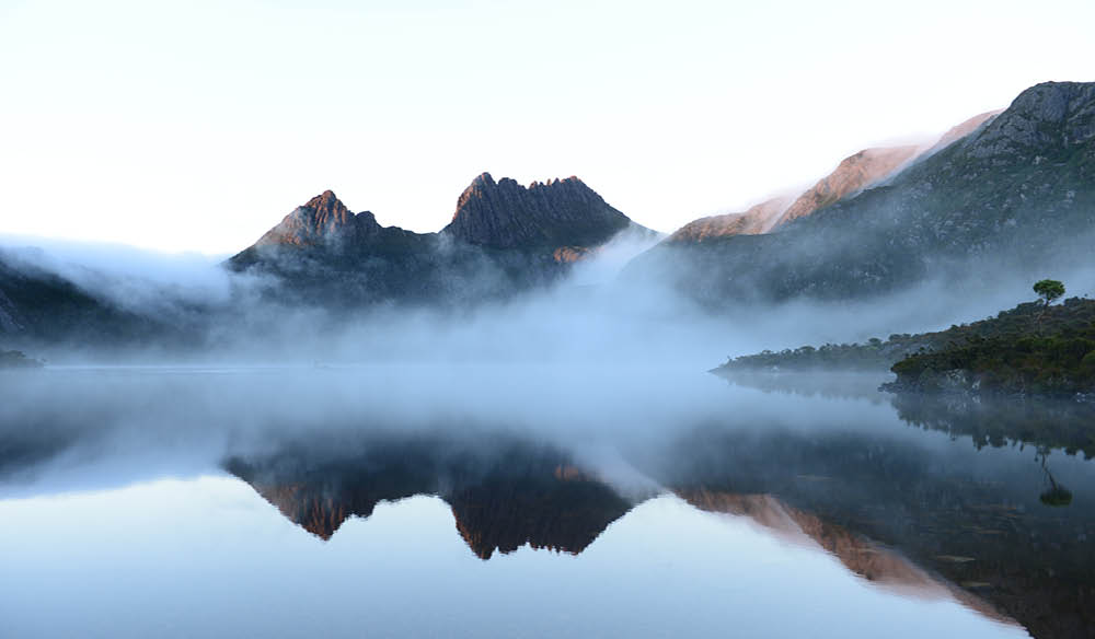 Cradle Mountain in Tasmania won the 'Best Walk' award