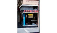 Pellegrini's Espresso Bar retains its sense of cool after over 60 years (photo: Mark Roper).