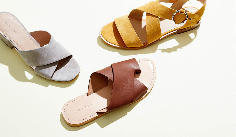 Girl's guide to chic summer sandals (photo: Guy Bailey).