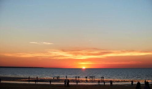 Sunset over Mindil Beach (photo: Sean Fennessey).