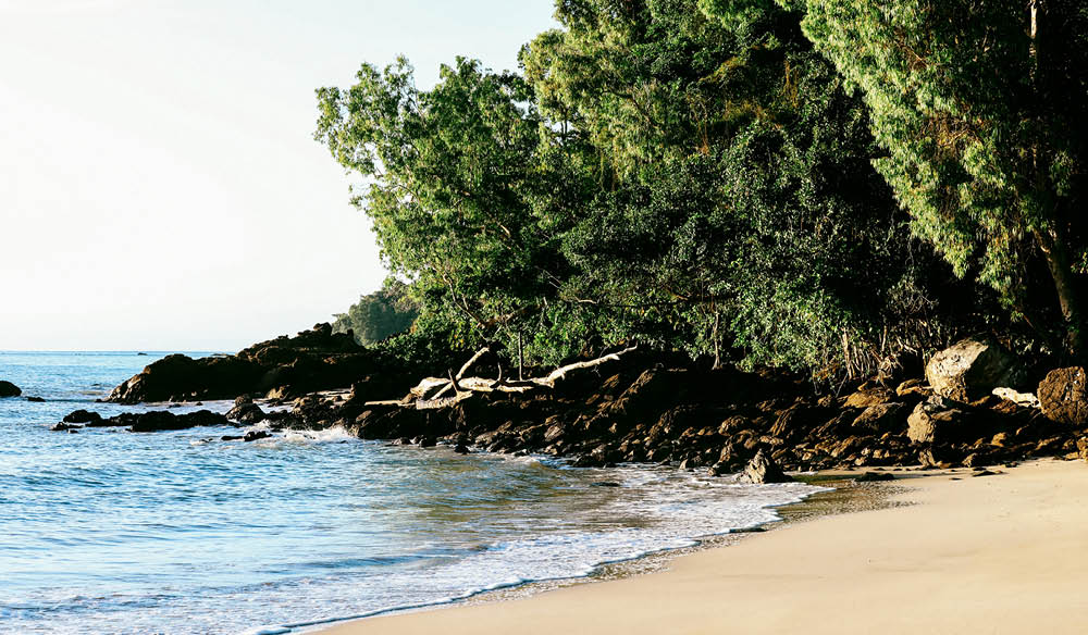 Secret Garners Beach Great Barrier Reef