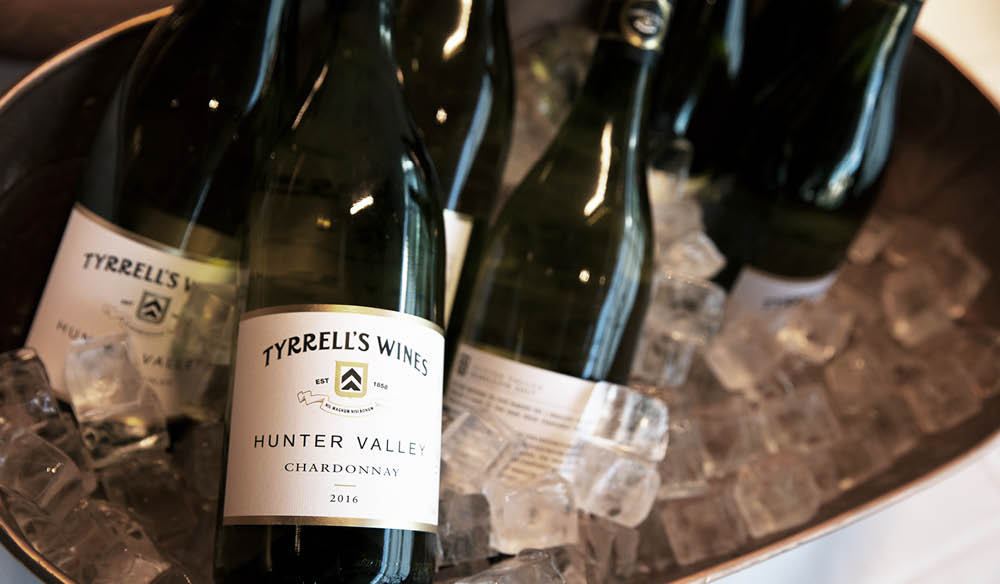 Our friends at Tyrell's Wine kept the vino flowing.