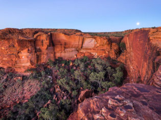 Kings Canyon Sunset