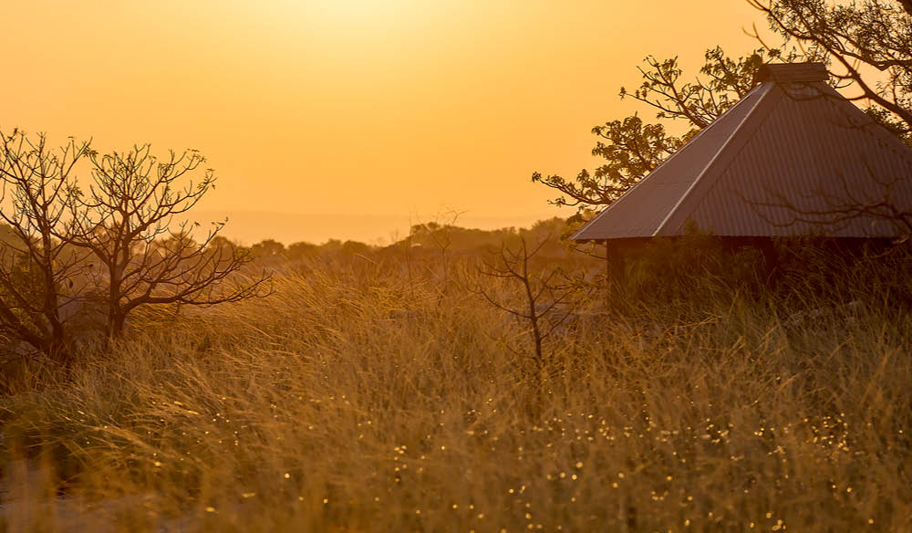 The sunrise at Kimberley Coastal Camp is something you have never seen before