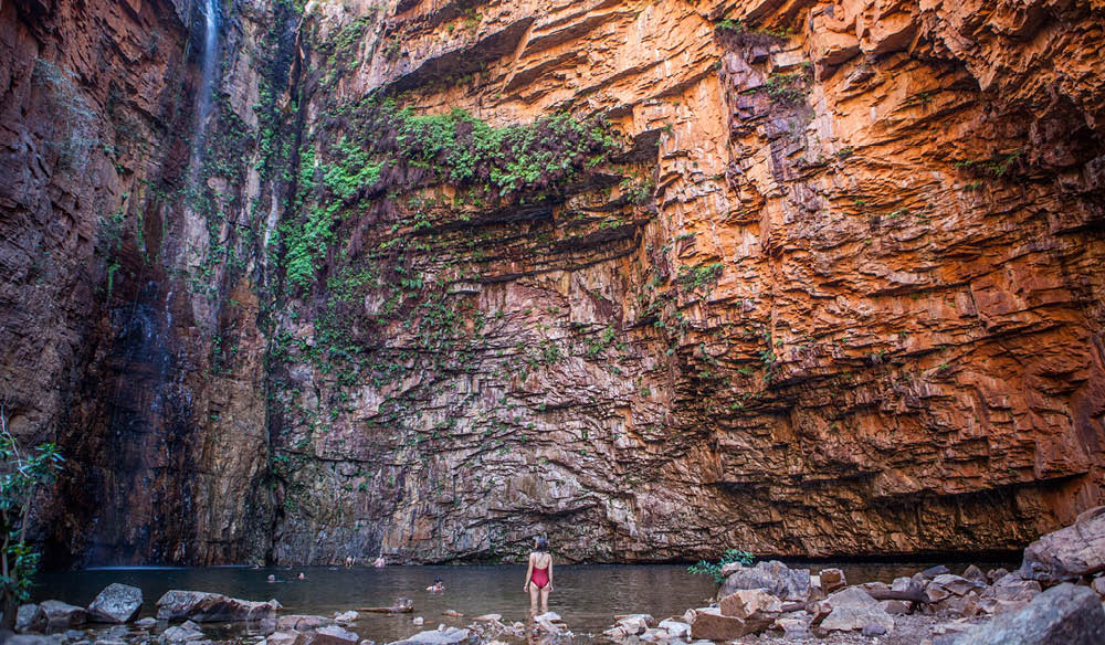 Emma Gorge Gibb River Road swim Kimberley