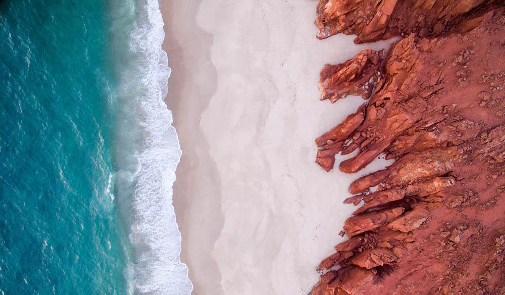 Cape Leveque beach swim Kimberley