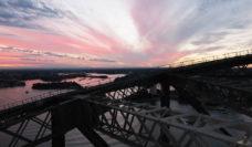 Bridgeclimb sunset