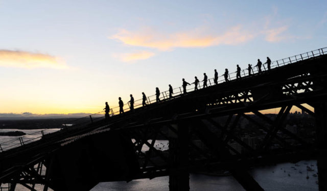 Bridgeclimb sunrise and sunset walk