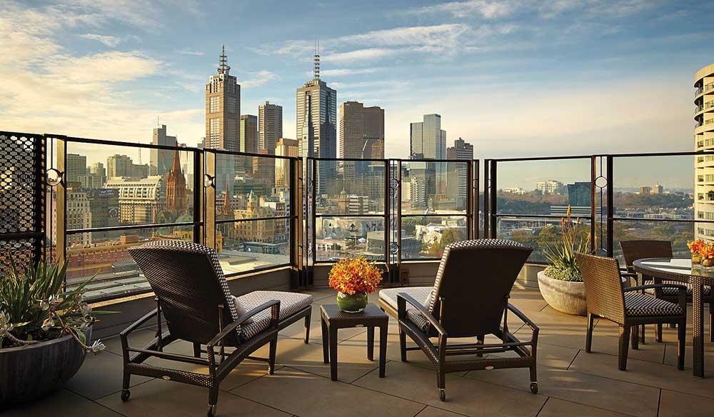 Terrace atop the Langham, Melbourne