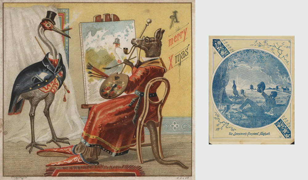 Artworks Christmas Cards.Vintage Christmas Cards That Show The Real Australia