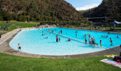 Classic family time: Pool First Basin and Cliff Grounds, Cataract Gorge Reserve, Tasmania (photo: Rob Burnett).