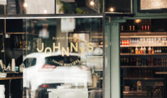 Johnny's cafe in Elwood, some of the best coffee in the neighbourhood.