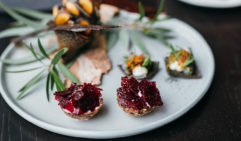 Christmas Canapes at the Wildflower, COMO the Treasury, Perth.