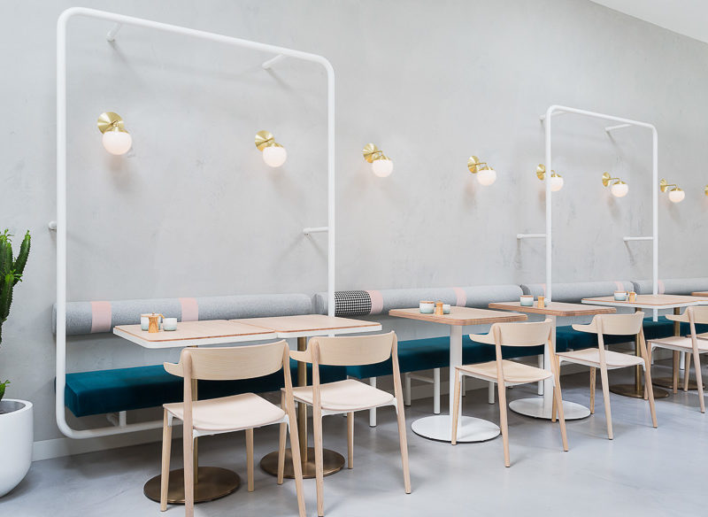 No. 19's Ascot Vale Cafe design Melbourne