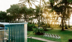 At the end of the day, cassowary or no cassowary, Castaways Resort & Spa is the fine place to flop (photo: Elise Hassey).