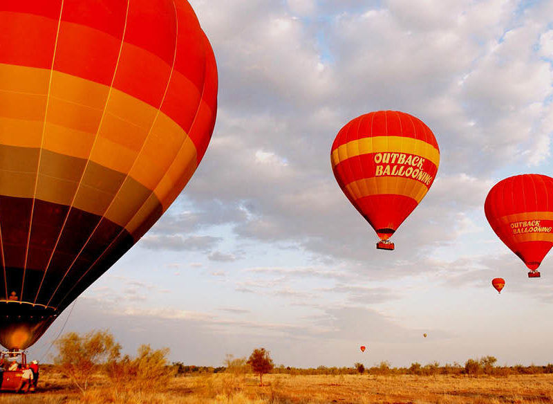 Hot Air Ballooning in the Red Centre
