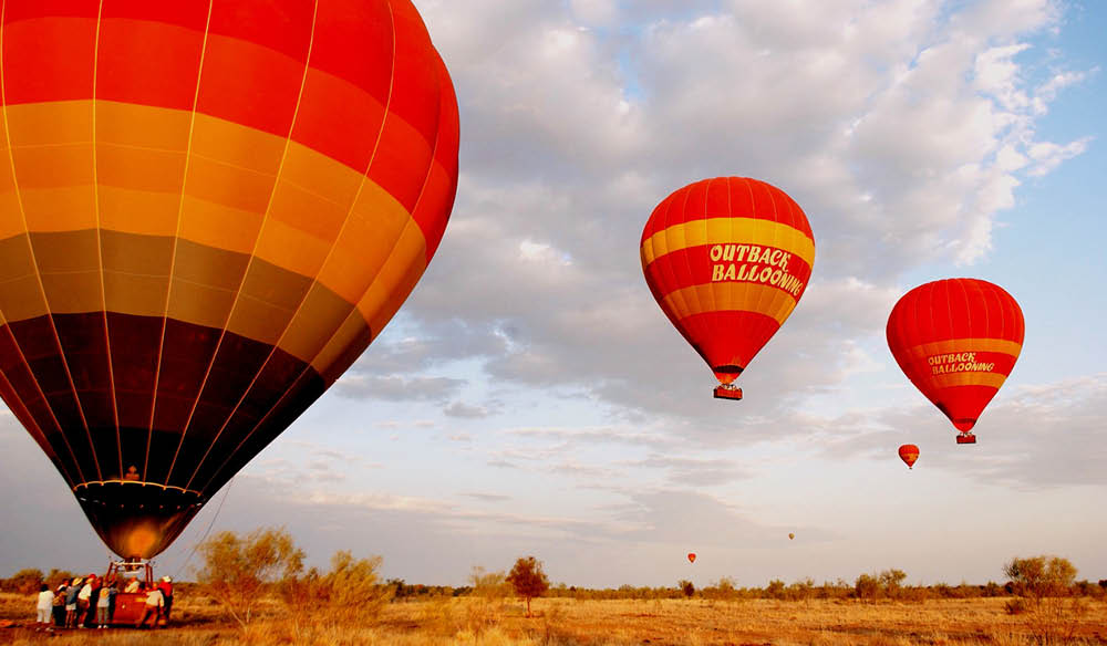 Ballooning in Alice Springs