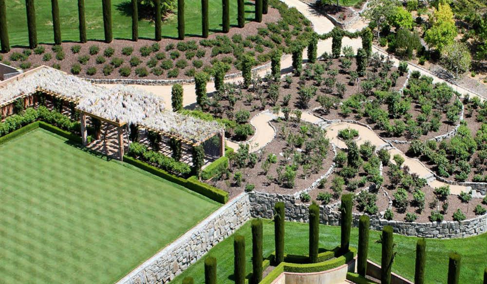Croquet lawn Mayfield Garden Oberon