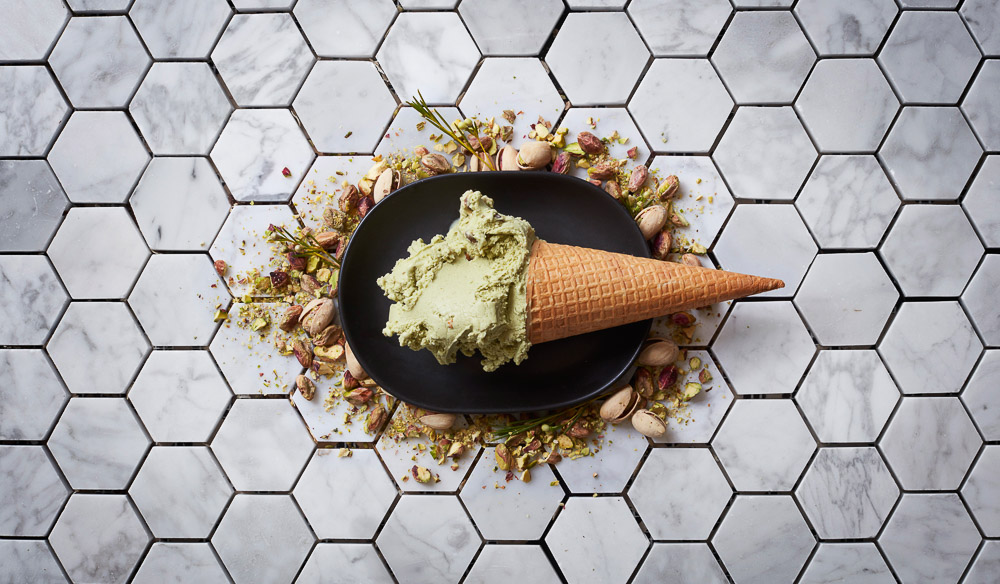 Pistachio gelato Bibelot South Melbourne