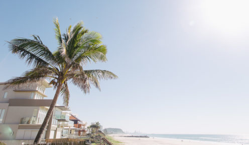 Palm Beach, a suburb on the Gold Coast, has a new sparkle since being gentrified in the past few years (photo: Krista Eppelstun).