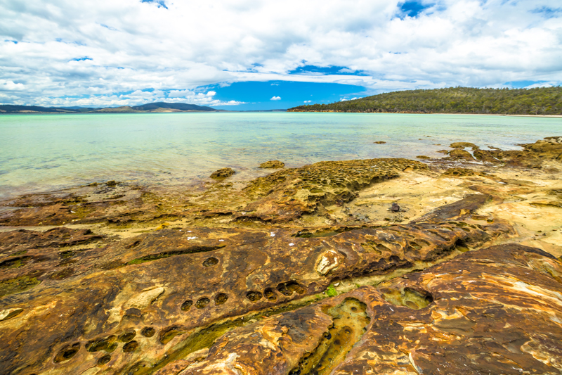Lime Bay, Tasmania.