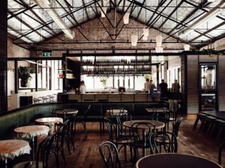 review restaurant cocktail wood fire Melbourne wine dine