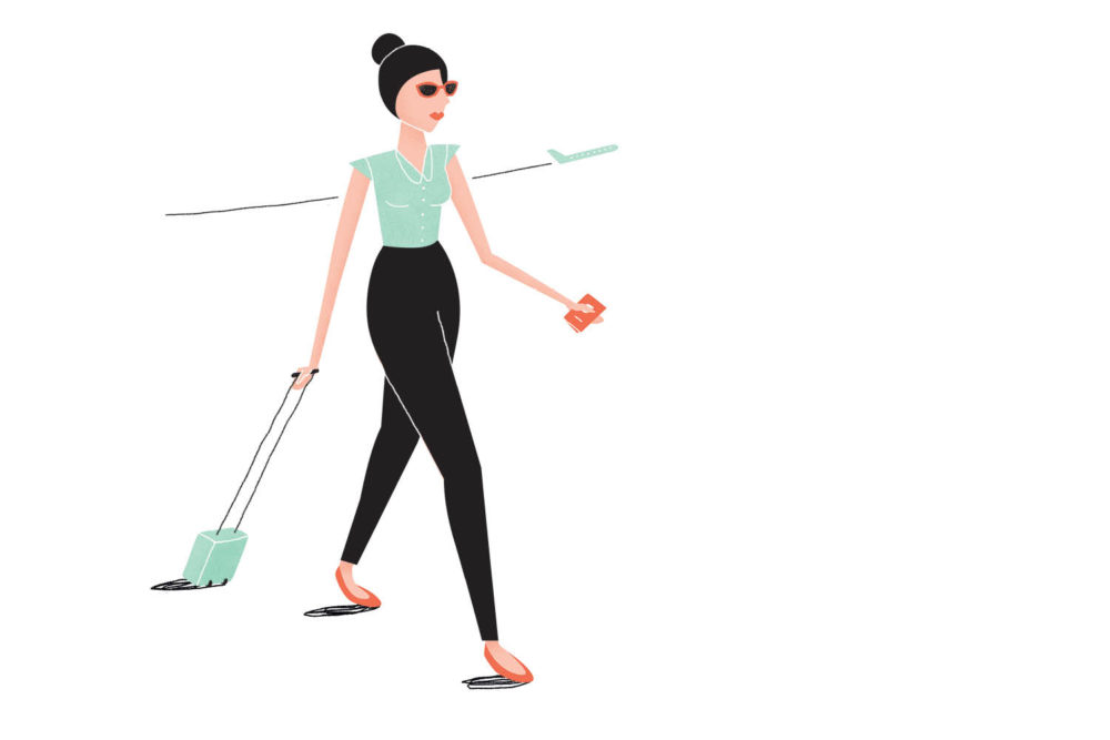 We can help you be a big-bag shunner and learn to pack like a minimalist (Illustration: Mike Rossi).