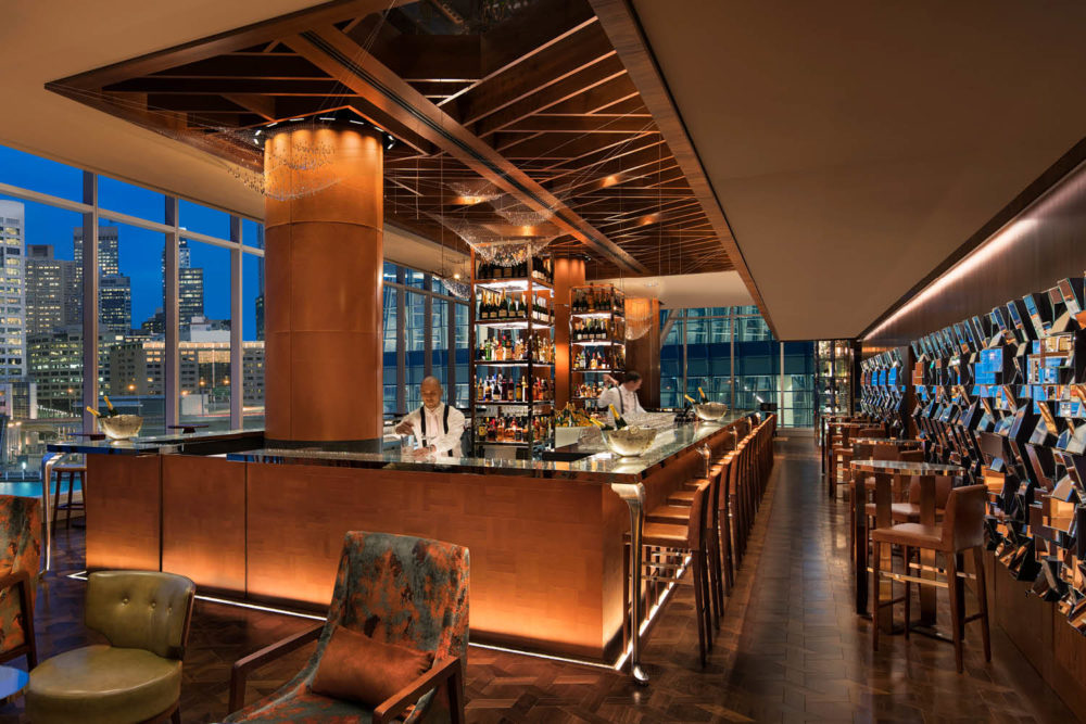 Champagne Bar Sofitel Sydney Darling Harbour