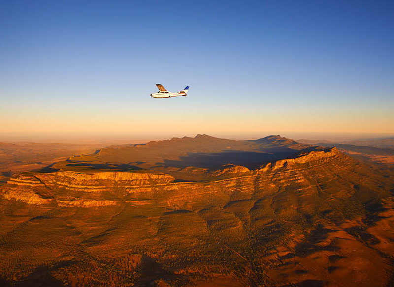 Wilpena Pound, Flinders Ranges and Lake Eyre