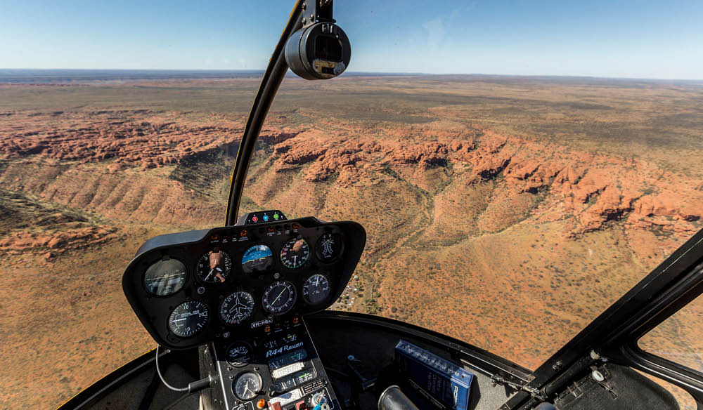 Kings Canyon helicopter tours