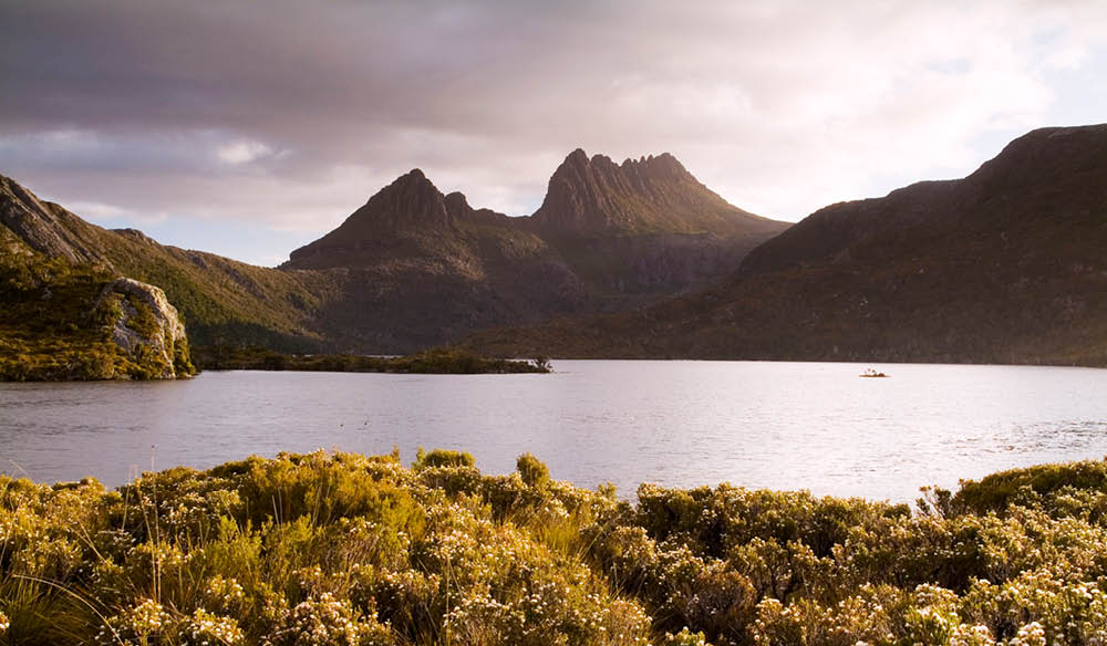 The unmistakable Cradle Mountain