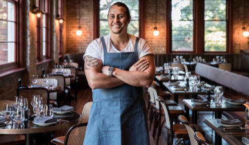 Kai Leishman from Stanton & Co. restaurant.