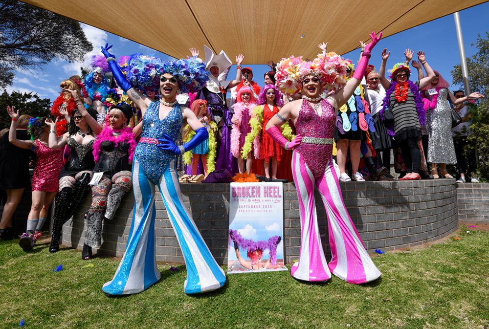 Fun and glamour at the Broken Heel Festival in Broken Hill.