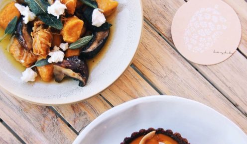 Baskk's young head chef creates world-class food.