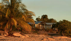 Stay on the sand  among the mangroves at the remote Groote Eylandt Lodge (photo: Sean Fennessy).