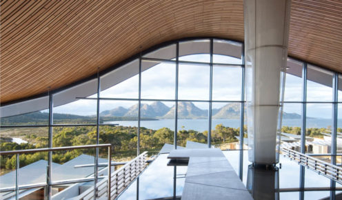 Saffire Freycinet: languid luxury for you, long guided walks and Tasmanian devil experiences for the kids.