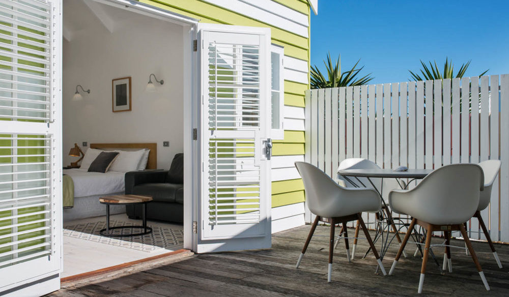 beach huts Middleton holiday Fleurieu Peninsula stays Victor Harbour