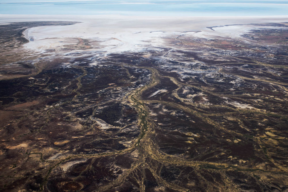 William Creek to Lake Eyre scenic flight