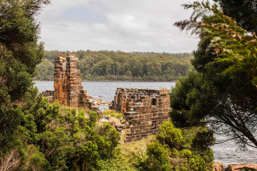 Strahan Sarah Island Convict Settlement walks hikes bushwalk
