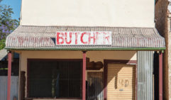 The local butcher's shop in Wilcannia (photo: Jac Taylor).