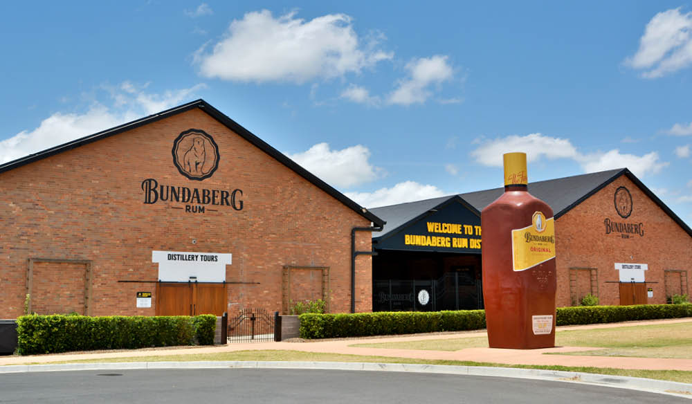 Bundaberg rum distillery QLD