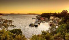 Tasmania's west-coast wilderness jewel: Strahan.