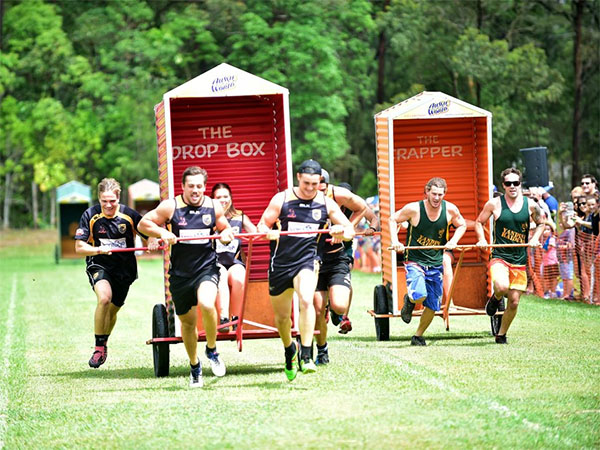 Maslin Beach Nude Games crowns winners in three-legged